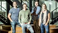 v.l.n.r.: Lars Grieten (CEO), Kobe Lysen (CTO), Jo Van der Auwera (Customer Relationships) und Bieke Van Gorp (CTO)