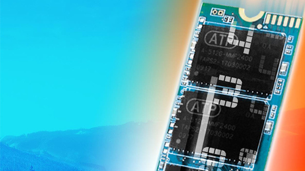 NVMe M.2 solid state drive modules from ATP Electronics support a wide operating temperature range of -40 °C to 85 °C.