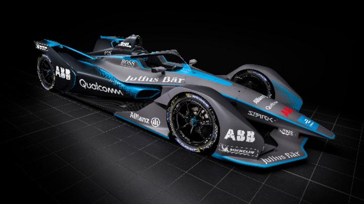 Gen2-Rennwagen der Formel E