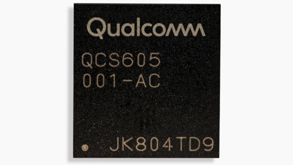 Das SoC QCS605 aus der Vision Intelligence Platform von Qualcomm kann Videosignale mit 4K- und 5,7K-Auflösung erfassen – und KI-Applikationen ausführen.
