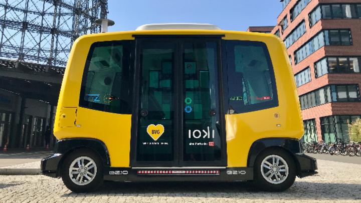 Der autonome Kleinbus von EasyMile