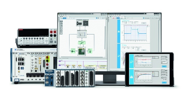 LabVIEW NXG was developed for the automation of large-scale test systems and supports development of browser-based user interfaces.