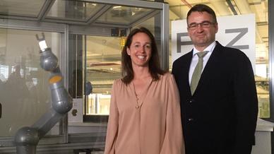 Susanne Kunschert und Thoms Pilz