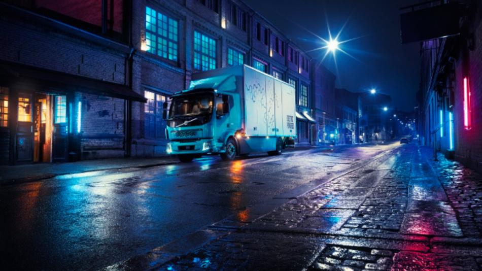 Der Volvo FL Electric – der elektrische Lkw für den gewerblichen Lieferverkehr.