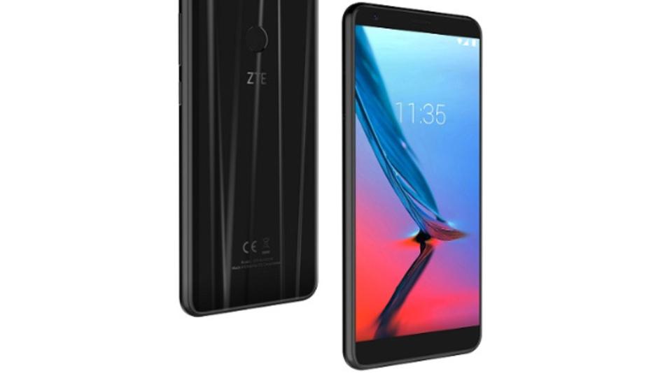 Das Blade V9 von ZTE: In die Smartphones und auch in das übrige Equipment von ZTE wandern viele Komponenten von amerikanischen Herstellern.