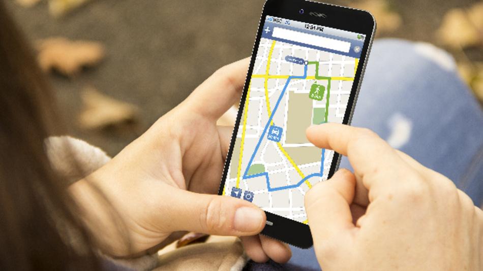 Bild 1: Smartphones integrieren heutzutage komplexe Applikationen  wie Tourenplanung