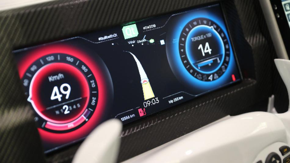 Bild 2: Digitale Cockpits müssen optisch attraktiv sein aber auch funktionale Sicherheit bieten