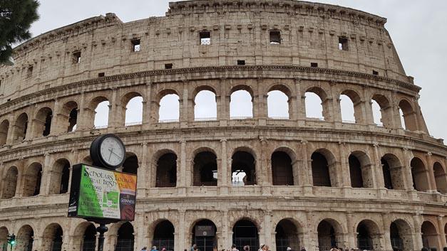 Am 14.04.2018 machte die Formel E Stopp in Rom.