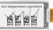 E-Paper-Display für -25 °C