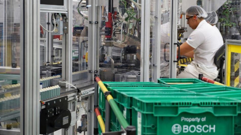 Das Bosch-Werk in Toluca ist rund 70 km von Mexiko Stadt entfernt.