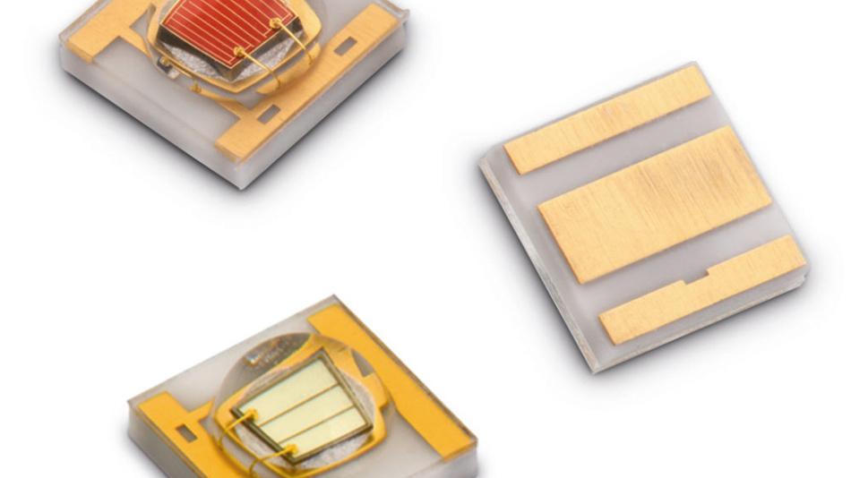 Drei Modelle von Würths keramikbasierter LED-Familie zur Pflanzenbeleuchtung WL-SMDC.