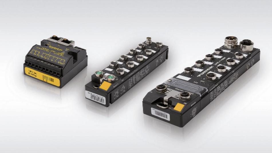 Turcks BEEP-Konzept ermöglicht den Einsatz von bis zu 33 I/O-Modulen mit nur einer IP-Adresse.