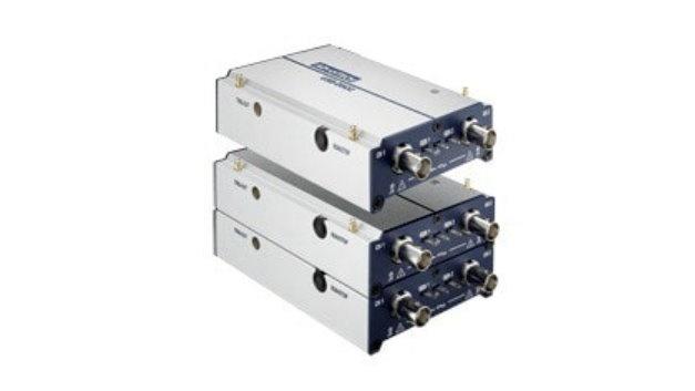 Kompakt und stapelbar sind die neuen USB-Oszilloskope von Advantech