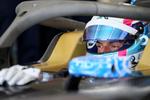 Bruno spengler im Formel E Auto von BMW