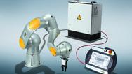 Die Pilz-Service-Robotik-Module sind ein Baukasten für Service-Roboter-Anwendungen in der Industrie.