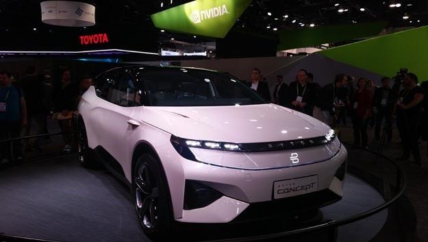 Byton und FAW haben eine strategische Zusammenarbeit vereinbart. Auf der CES 2018 hatte der Hersteller sein erstes Elektrofahrzeug vorgestellt.