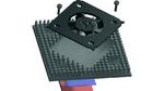 Bild 6. Die vom FPGA erzeugte Verlustleistung wird bei SEPA Europe in einem Experiment nachgebildet, bei dem ein Transistor im TO220-Gehäuse die prognostizierten 15 W an Verlustleistung generiert.