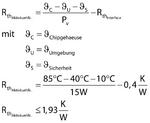 Rth für den Aktivkühlkörper beträgt 1,93 K/W