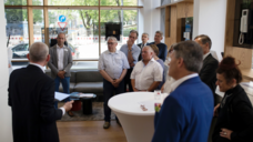 Eröffnung des Siedle-Studios in München