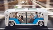 """Das Rinspeed-Fahrzeug """"Snap"""" setzt auf Super Fast Charging von Harting."""