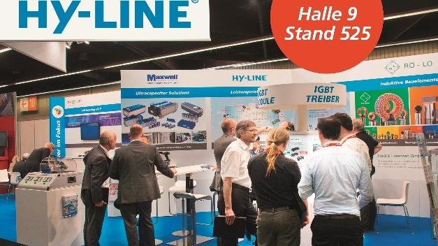 Hy-Line Power Components lädt vom 5. bis zum 7. Juni 2018 zur PCIM in Nürnberg in Halle 9 an Stand 525 ein.