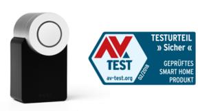 AV-Sicherheitszertifikat von Nuki