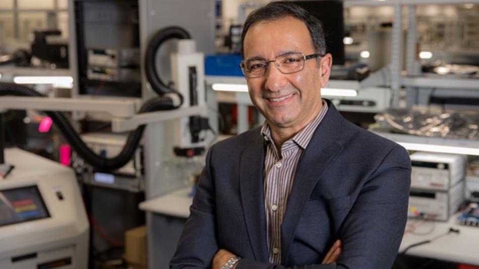 Dr. Ahmad Bahai, Cheftechnologe im Vorstand von Texas Instruments sowie Direktor von TI Corporate Research, Kilby Labs, beratender Professor an der Stanford University und IEEE Fellow.