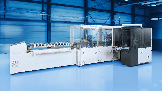 Der Klebe-Stringer der Firma Teamtechnik kommt bei der industriellen Verschaltung von Heterojunction-Solarzellen zum Einsatz.