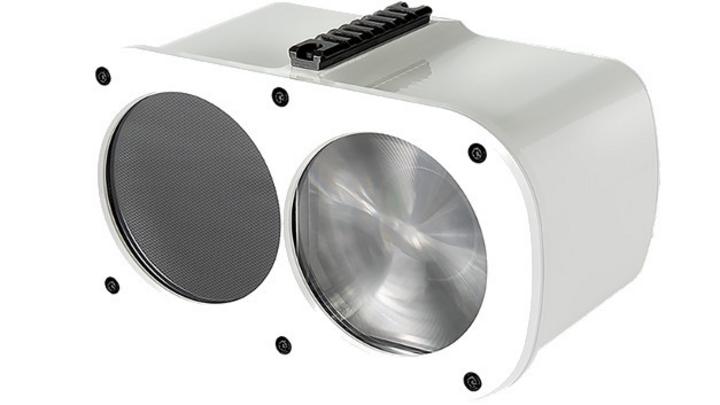 LED Backhaul, optische Übertragung mit bis zu 750 Mbit/s ohne Kabel, von Sangikyo.