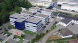 ZKW Standort in Wieselburg an der Erlauf aus der Vogelperspektive