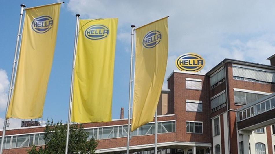Das Firmengebäude von Hella in Lippstadt.