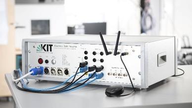 EDR – Electrical Data Recorder (hier ein Prototyp) liefert hochaufgelöste Messdaten aus dem laufenden Netzbetrieb