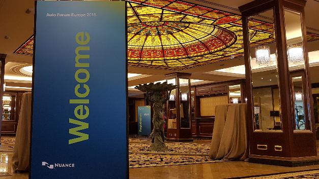 Vor dem offiziellen Start: Das Nuance Autoforum 2018 im Grandhotel Dino am Lago Maggiore.