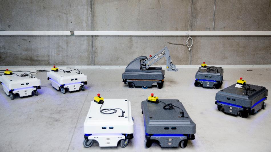 Für Industrie und Gesundheitswesen: Mobile Roboter von MiR