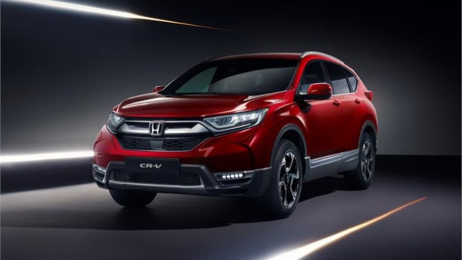 Der CR-V, den Honda auf der Geneva Motor Show 2018 zeigte