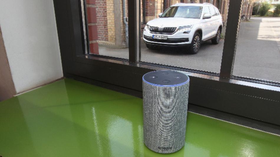 Skoda Connect kommuniziert ab sofort mit »Alexa« als Beta-Testphase.