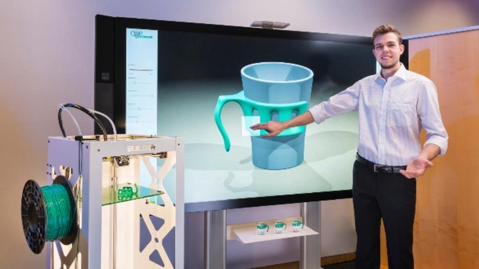 Die Simulationssoftware prüft automatisch, ob sich das am Rechner individuell abgewandelte Produktdesign des Kunden auch in der Realität umsetzen lässt.