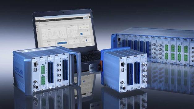 Datenerfassungssystem KiDAQ mit KiStudio Lab-Software