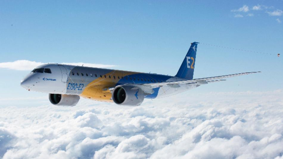Sparsam, Umweltfreundlich, geräuscharm und um 17 Prozent sparsamer als der Vorgänger: Die E190-E2 hat Embraer mit Hilfe der Simulationssoftware von Ansys entwickelt.