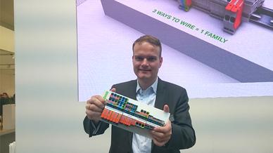 Dr. Karsten Stoll von Wago Kontakttechnik auf der Hannover Messe 2018