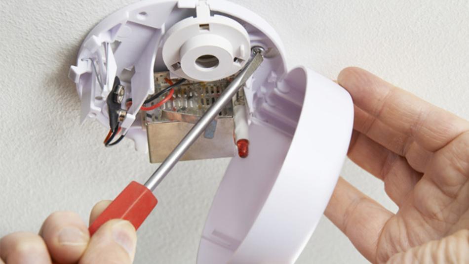 Verstärker für die Sensorsignale in Rauchmeldern.