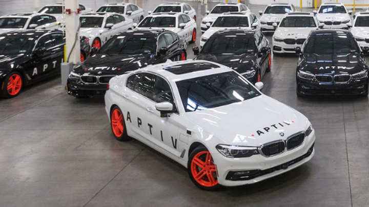 Autonome BMWs in Las Vegas von Aptiv und Lyft