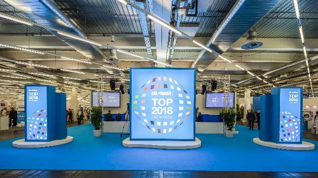 Ausstellungsbereich der IM TOP 2018