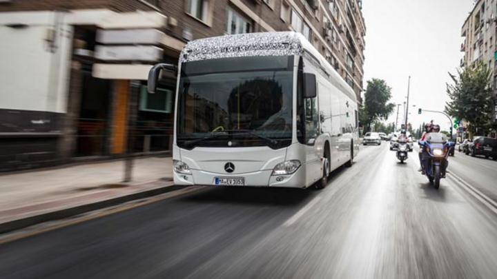 Mit dem vollelektrischen Citaro auf dem Weg zur grünen Busflotte: Die Hamburger Hochbahn hat 20 vollelektrische Citaro geordert.