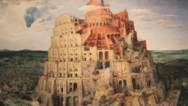 Pieter Bruegels berühmtes Gemälde »Der Turmbau zu Babel« aus dem Jahr 1563.