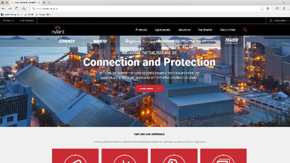 nVent Electric plc (nVent) ist ein weltweit führender Anbieter von innovativen elektrischen Lösungen, die Kunden verbinden und schützen, indem sie sicherere Systeme für eine sicherere Welt schaffen.