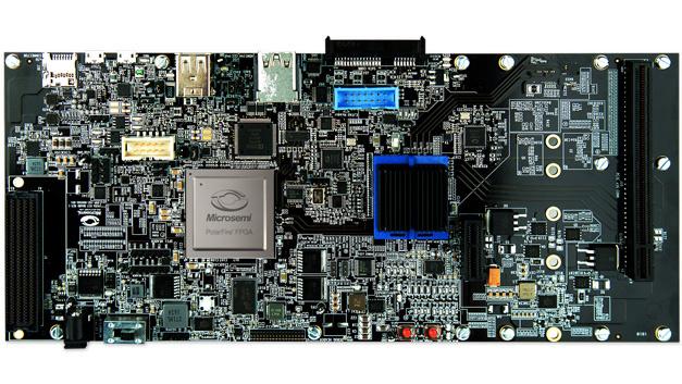 Erweiterungsmodul HiFive Unleashed Expansion Board von Microsemi - mit PolarFire FPGA.