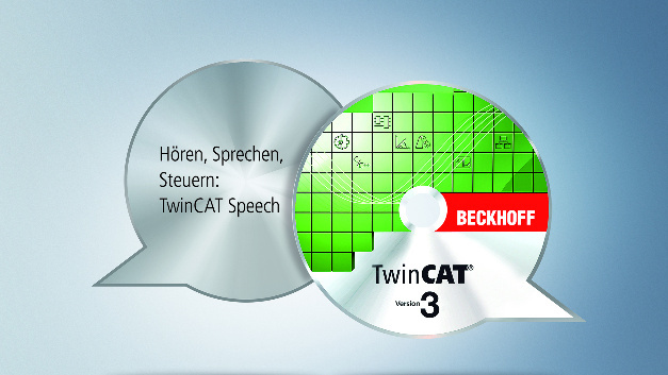 Mit »TwinCAT Speech« kann die Steuerung hören und sprechen und somit das Bedien- und Wartungspersonal durch eine Sprachein- und -ausgabe unterstützen.