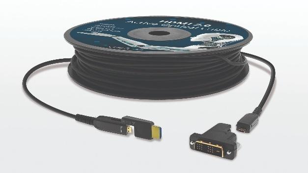 Adaptierbar und anpassungsfähig: das HDMI-D 2.0 Active Optical Cable von TTL Network