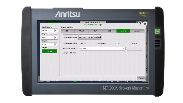 Handheld-Spektrumanalysator MT1000A Network Master Pro